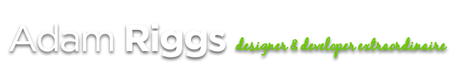 Riggs Design Solutions by Adam Riggs Logo