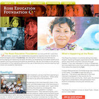 Rose Education Website